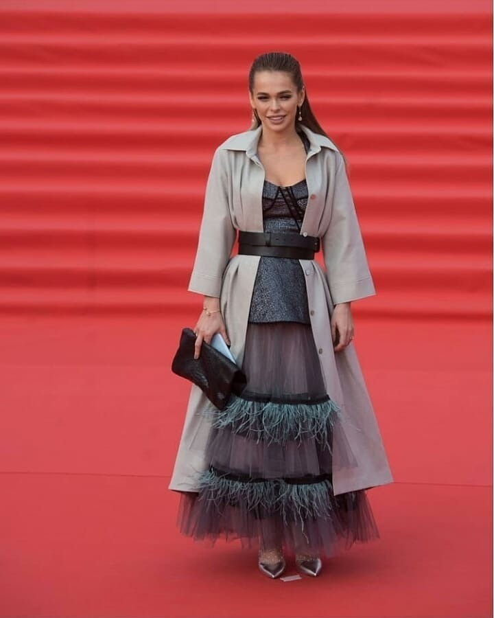 Анна Хилькевич выбрала платье &...