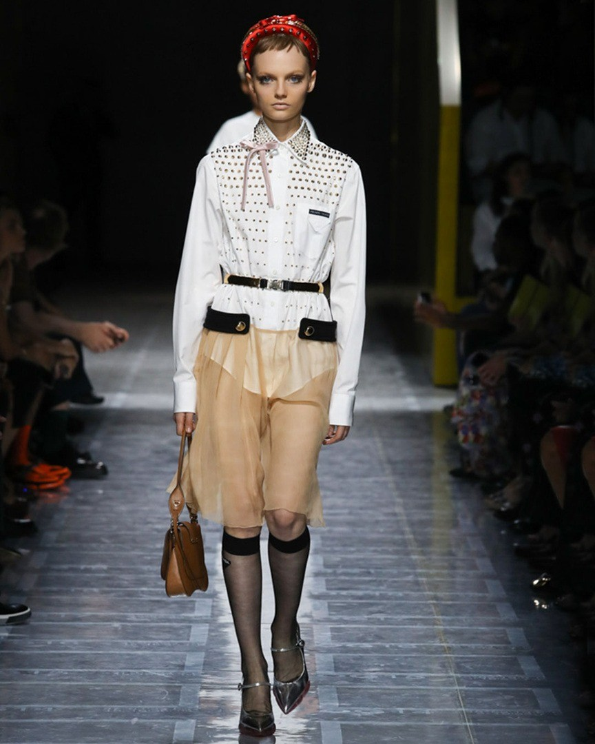 На показе модного дома Prada стилис&#...