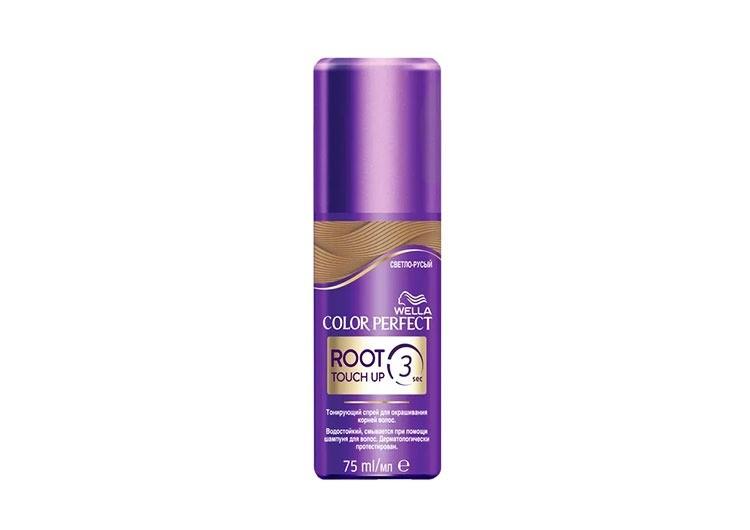 Тонирующий спрей для корней волос Color Perfect Root Touch Up, Wella Color Perfect