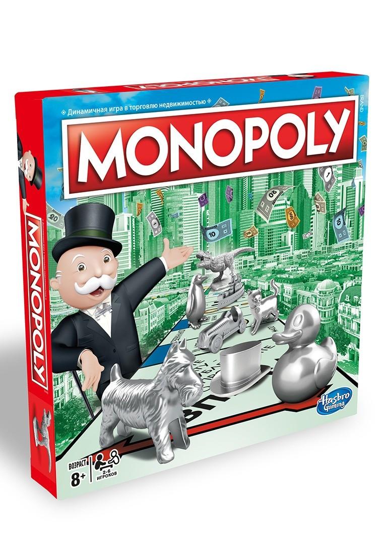 Настольная игра Hasbro Игры Monopoly