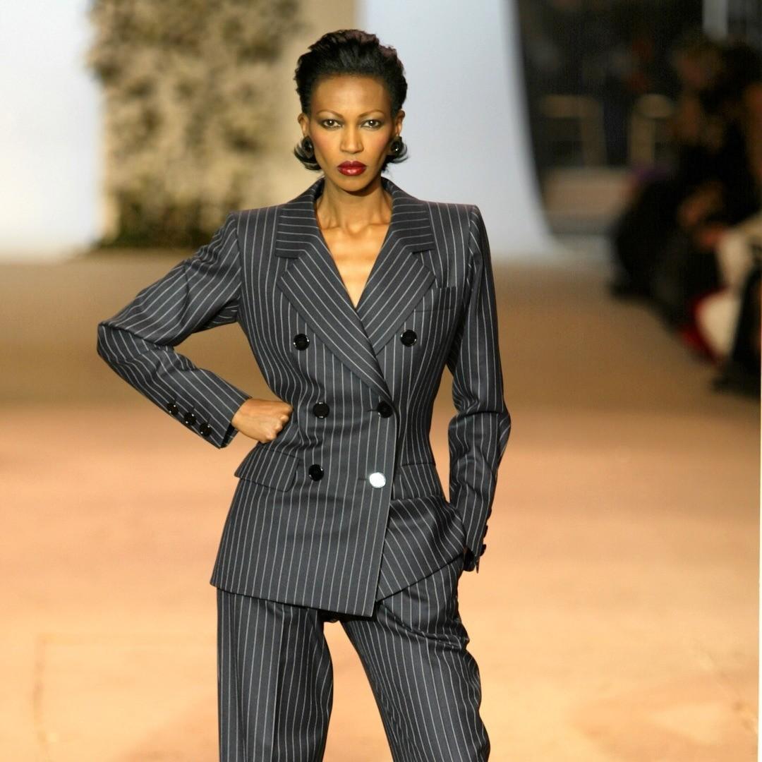 Модная история: как появился женский смокинг