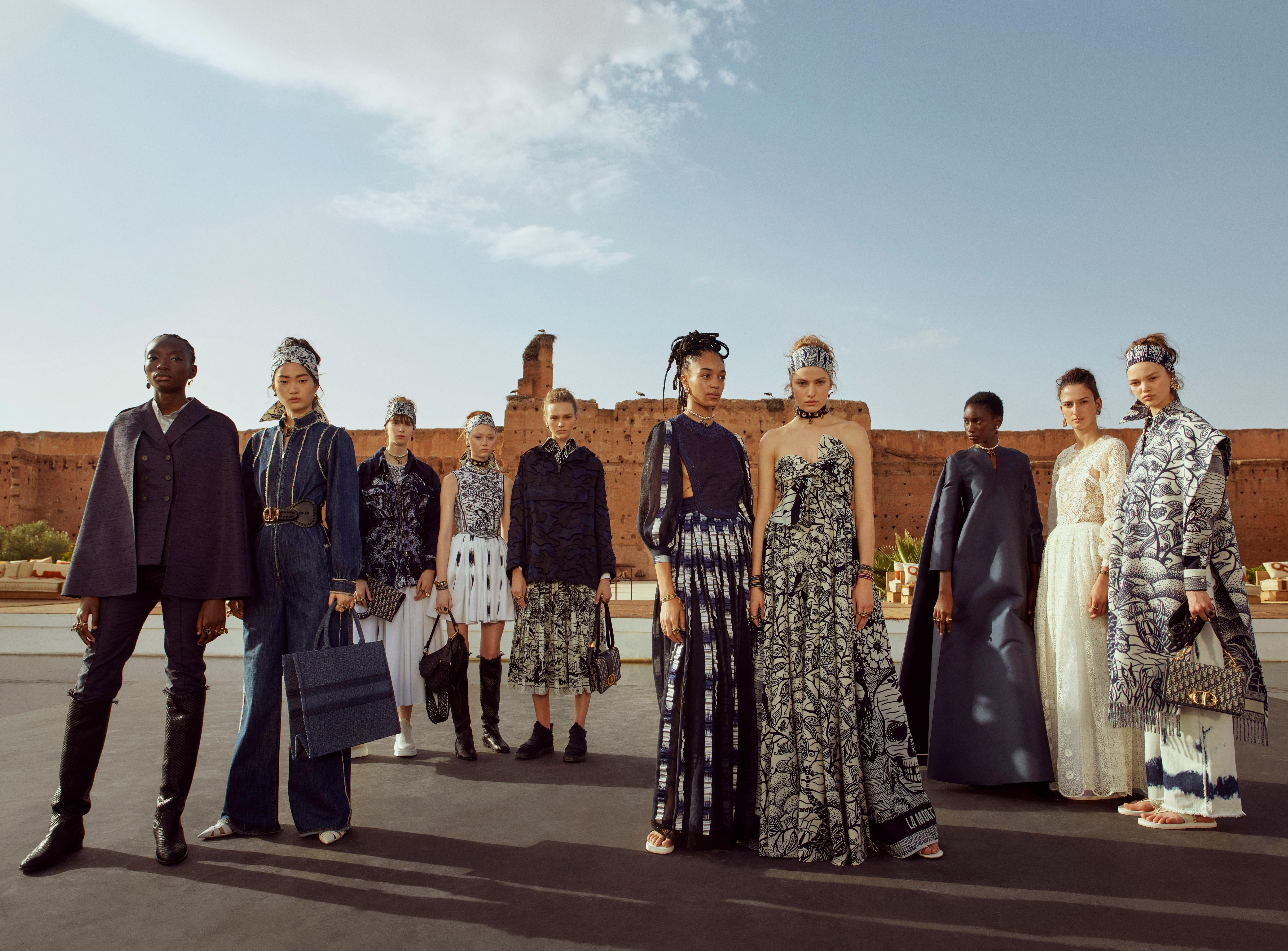 Как прошел показ новой круизной коллекции Dior