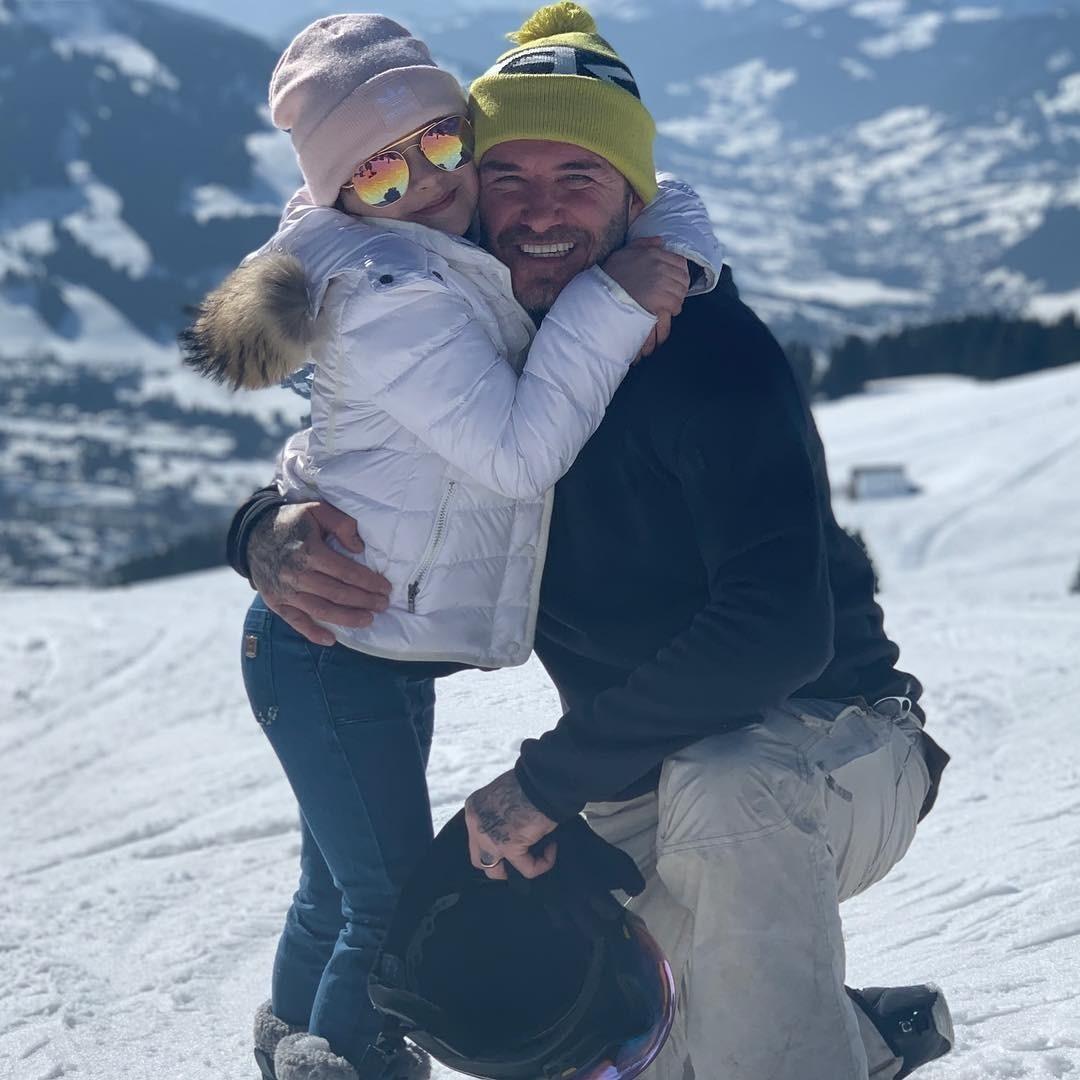 Дэвида Бэкхема назвали плохим отцом из-за его прогулки с дочерью