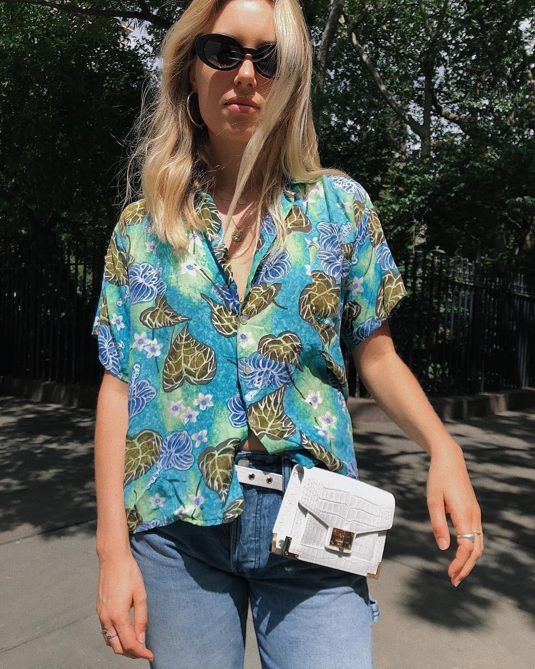 Алоха!  Тренд лета — гавайские рубашки