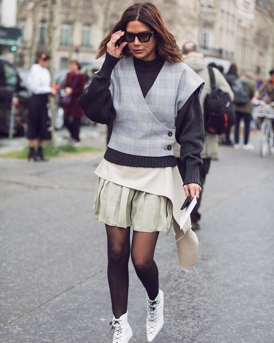 Модные блогеры наглядно показ&#...