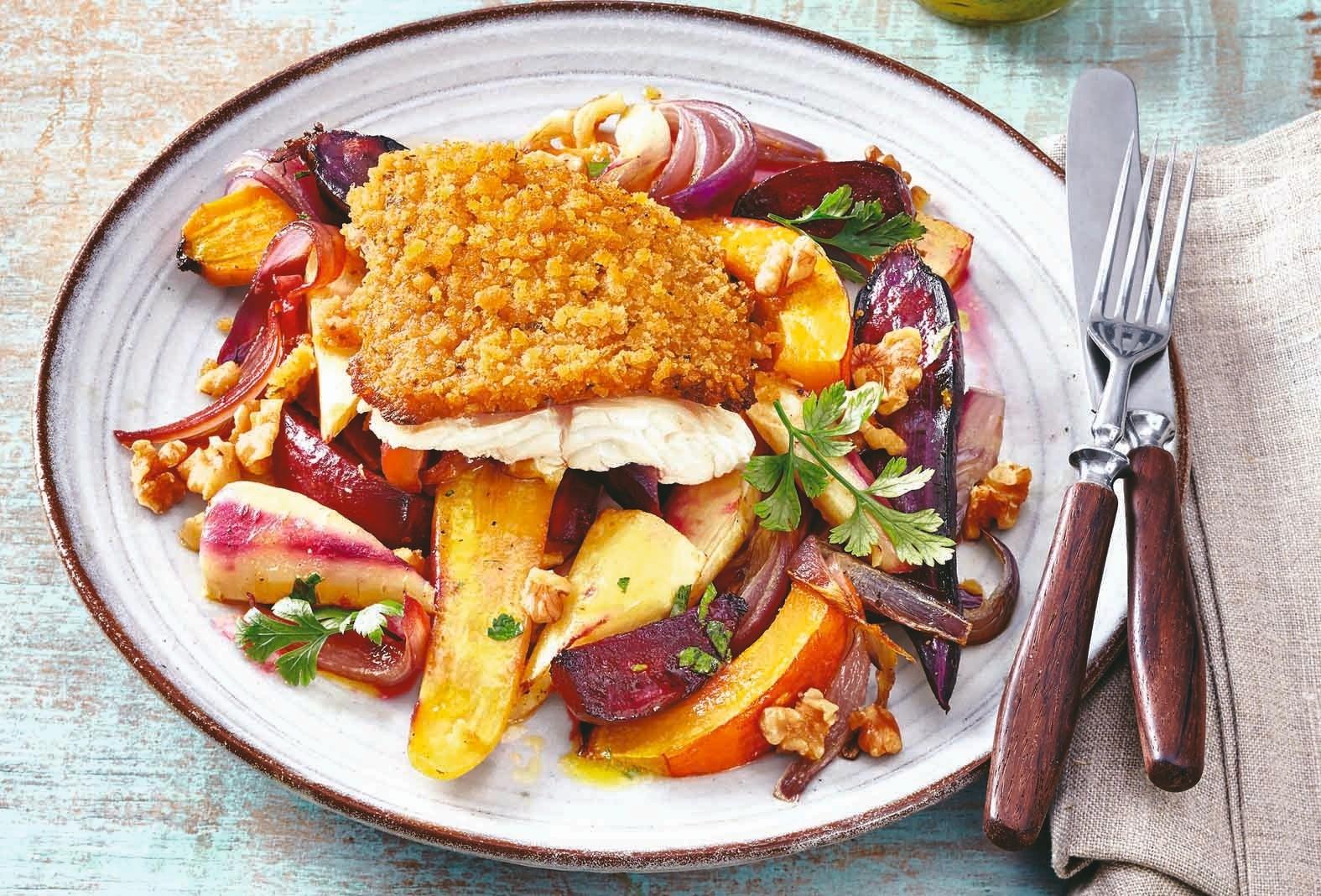 Вкусное пп: рецепт рыбы на овощах