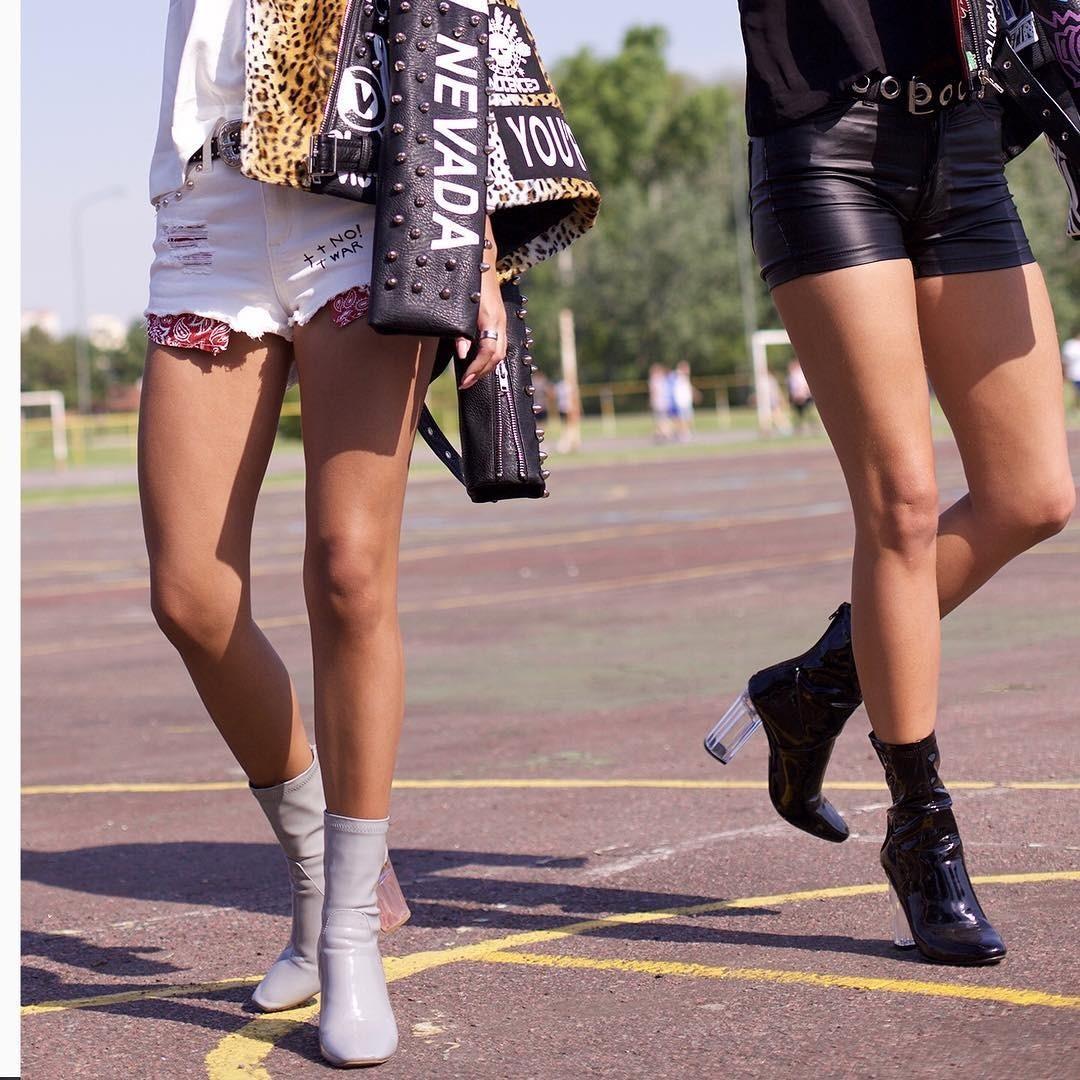 Кожаные шорты: с чем носить и летом, и зимой (7 стильных вариантов)