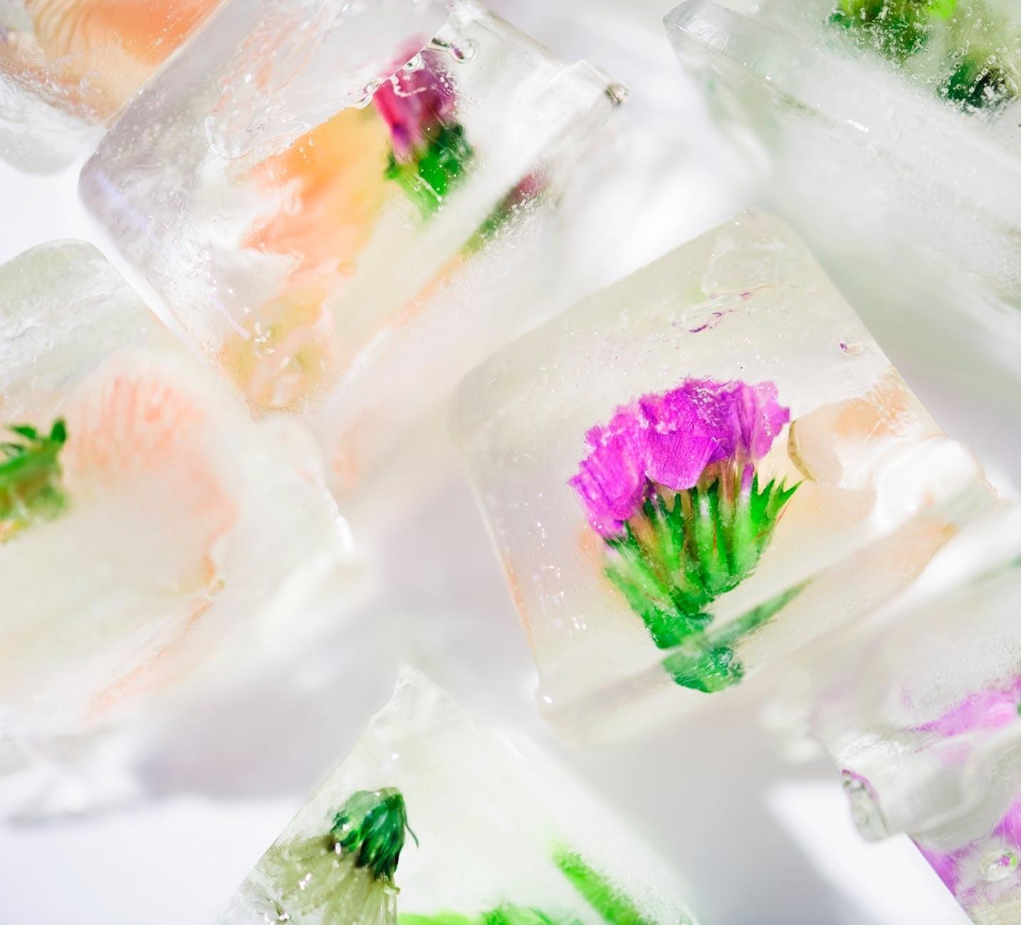 Кубики льда для лица от морщин (и не только)
