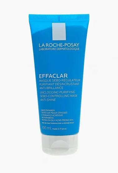 Очищающая маска для жирной кожи Effaclar Macka, La-Roche Posay