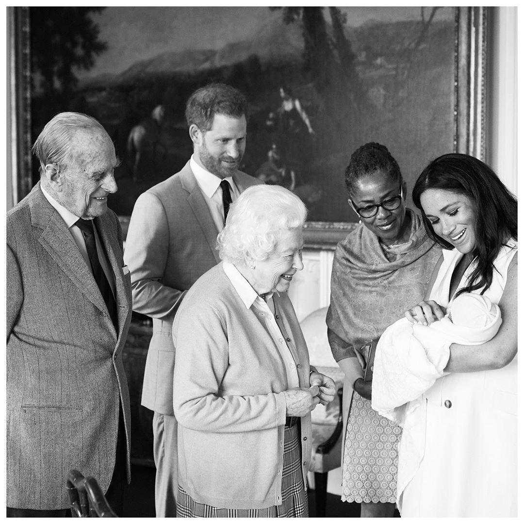 Стало известно, вчесть кого принц Гарри иМеган Маркл назвали своего сына