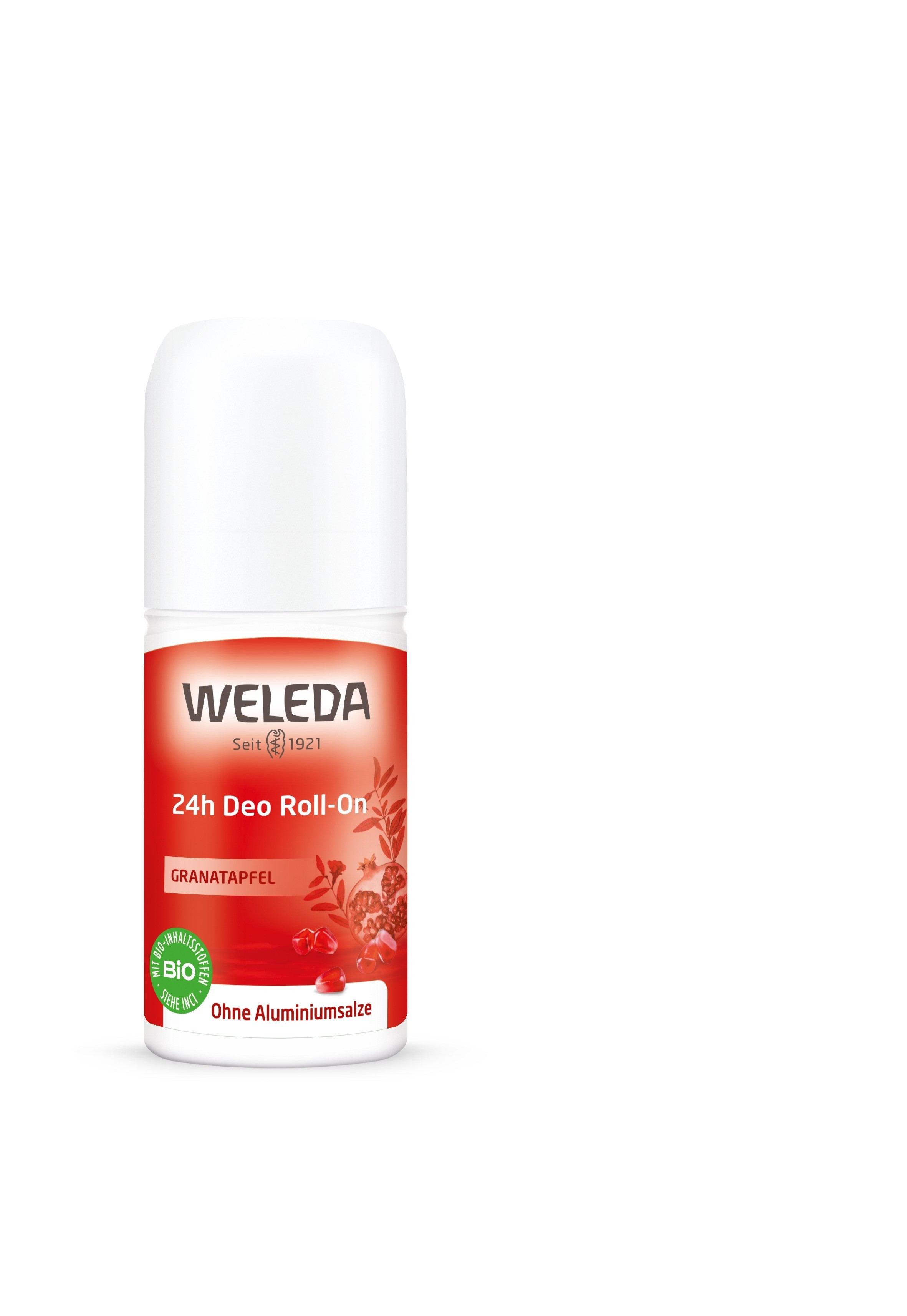 Роликовый дезодорант с маслом граната 24 часа, Weleda