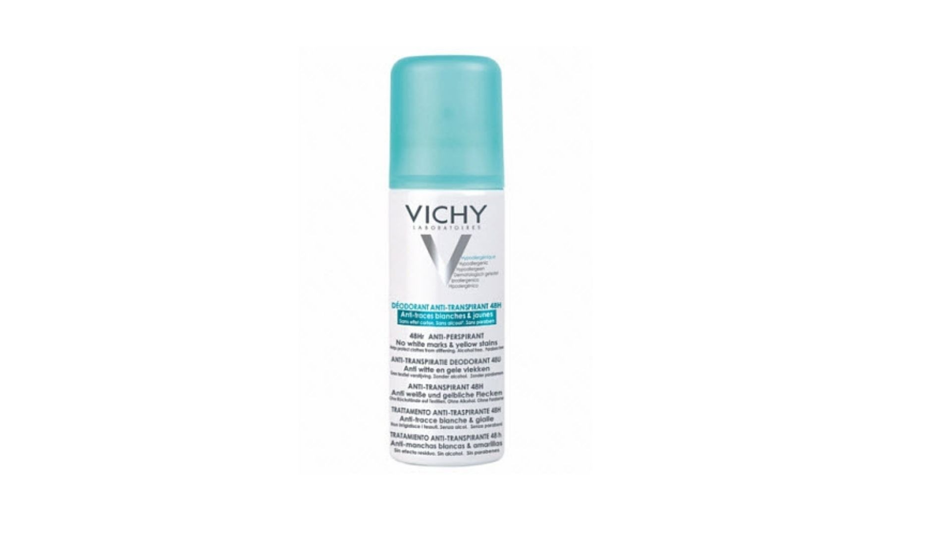 Дезодорант-антиперспирант против белых и желтых пятен 48H Anti-Perspirant, Vichy