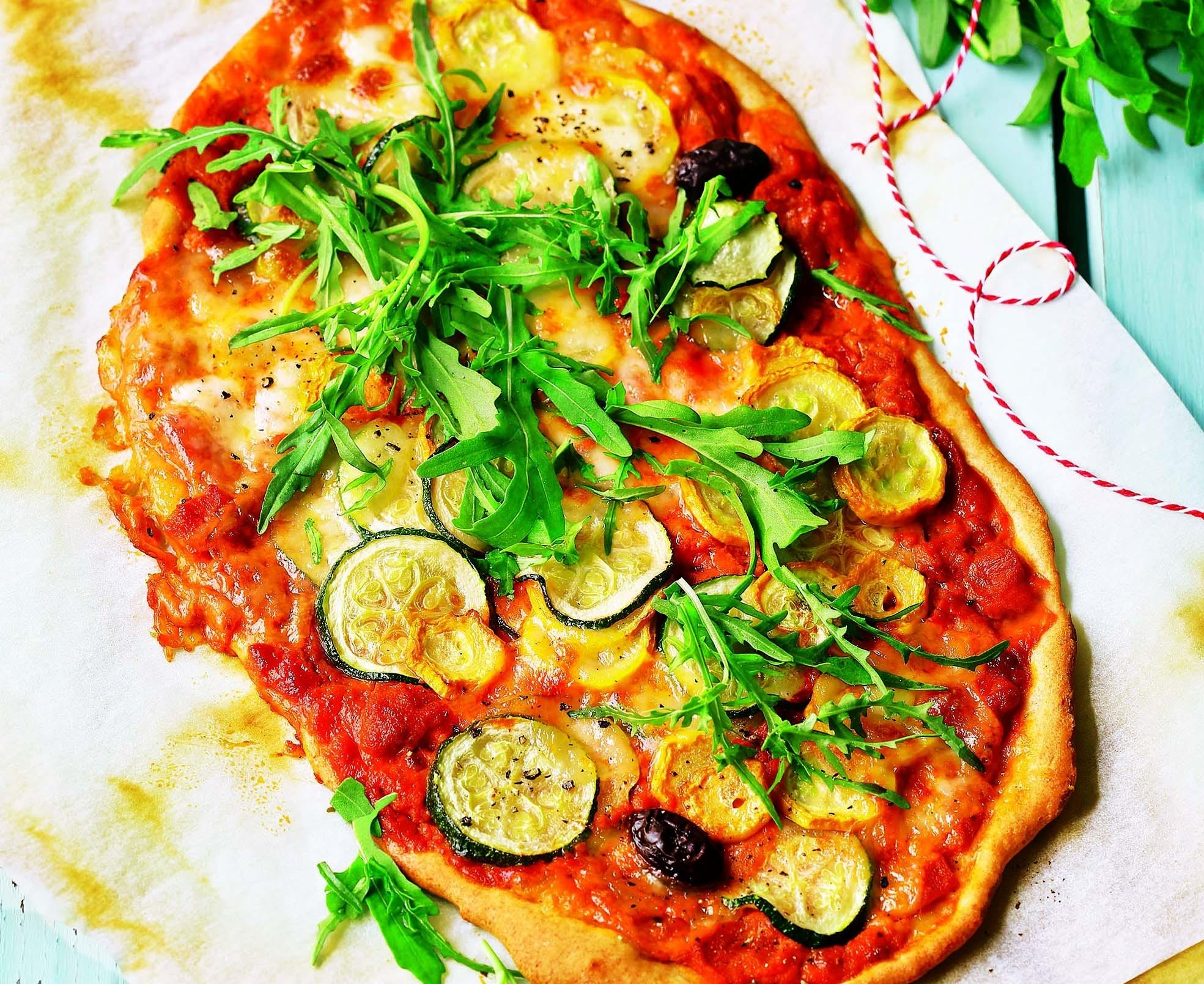 Полезная альтернатива: рецепт пиццы с цукини