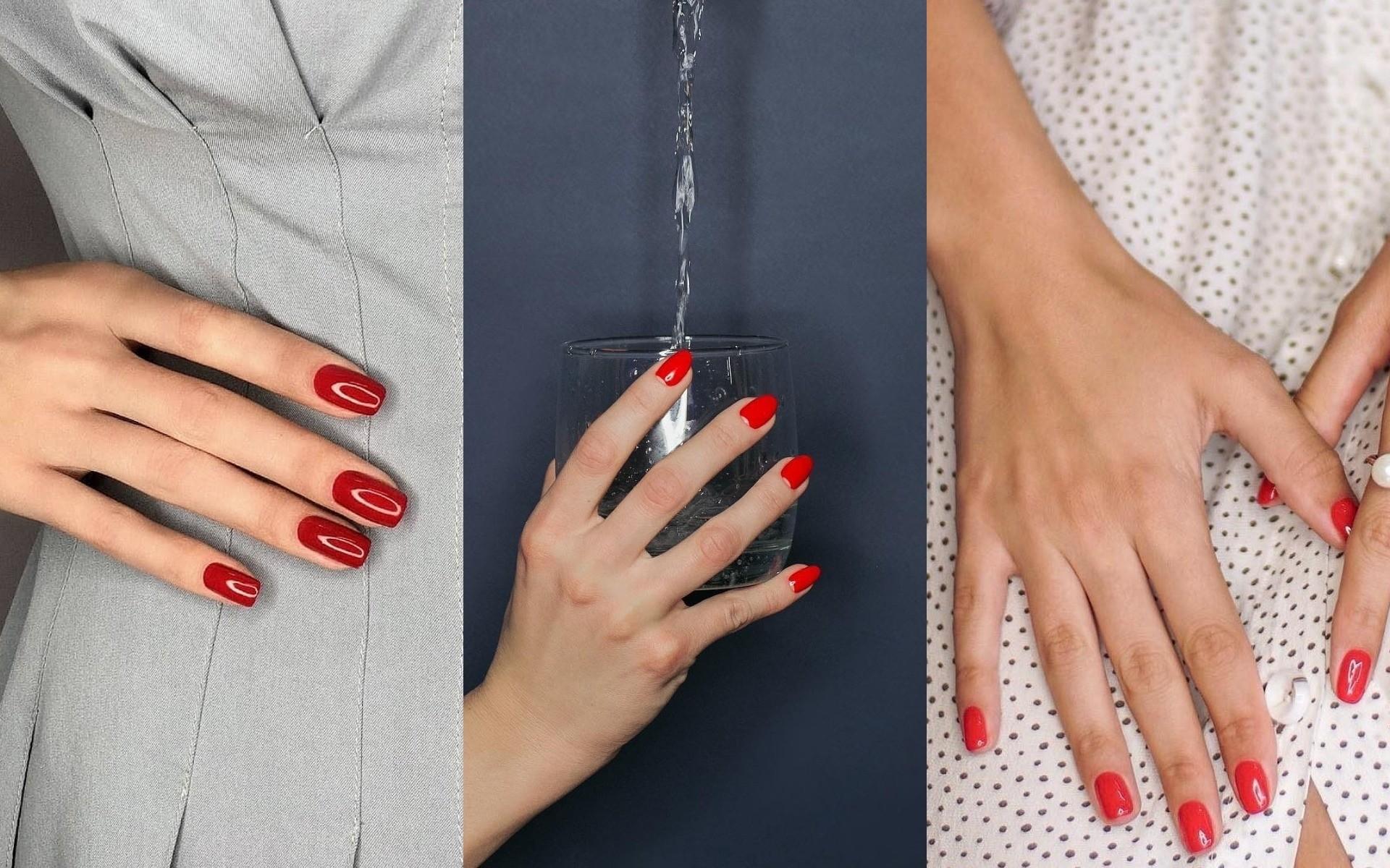 Красный маникюр 2019: модные тенденции (и классные фото для вдохновения)