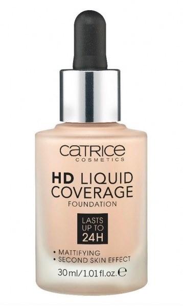 Тональный крем HD Liquid Coverage Foundation, Cartice