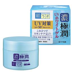 Универсальный гель с высокой степенью защиты для утреннего использования UV White Gel SPF 50, HADA LABO