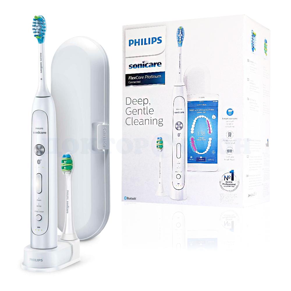 Электрическая зубная щетка Sonicare FlexCare Platinum Connected HX9192/0, Philips