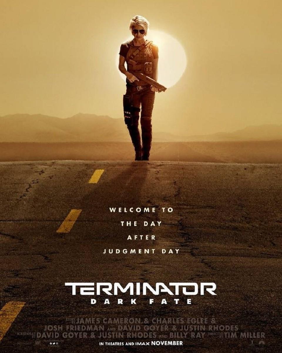 Впервом трейлере нового «Терминатора» засветились звезды предыдущих частей франшизы