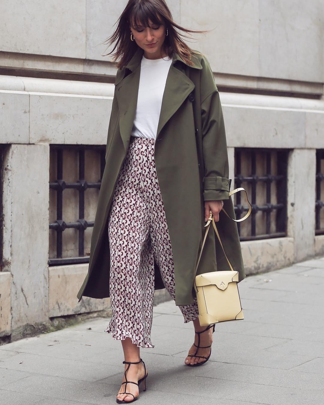 Не сядь в лужу: с чем носить тренч, чтобы выглядеть стильно