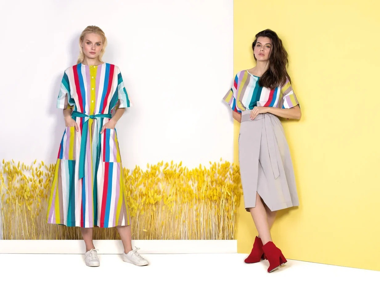 Яркие и легкие летние модели в новом лукбуке бренда BAON