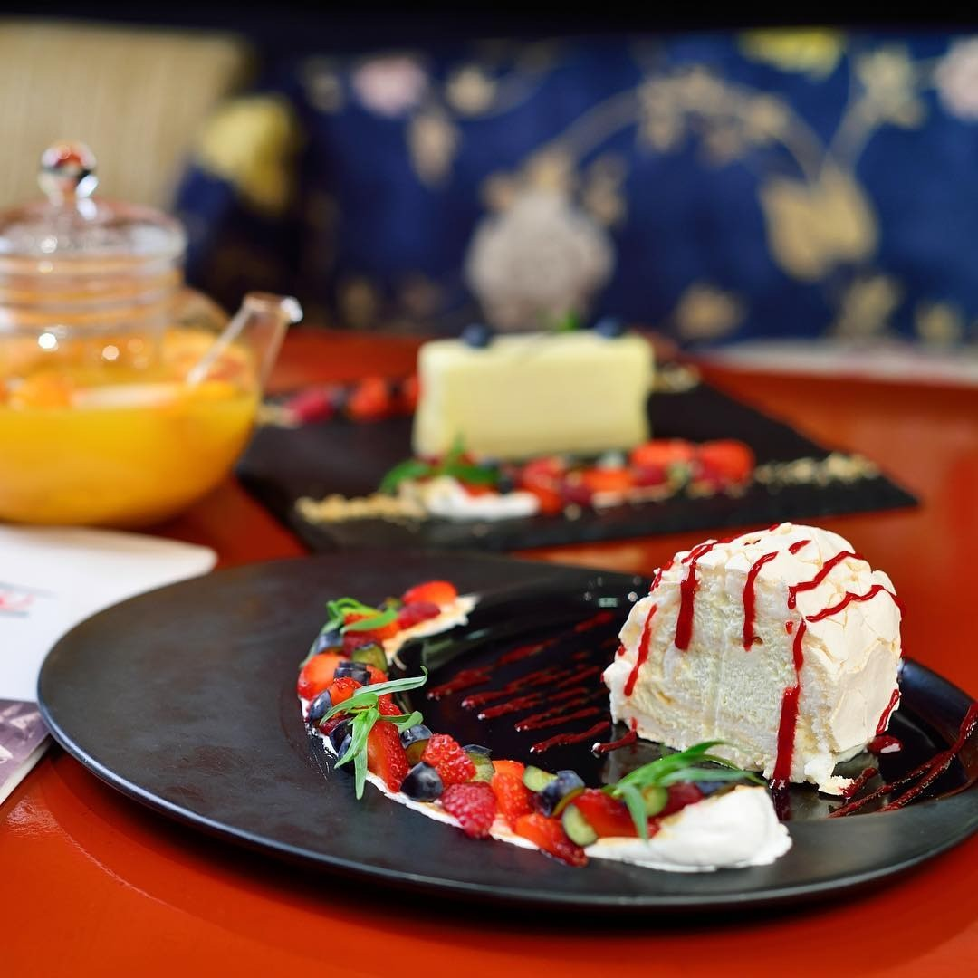 Рецепт от шефа: десерт «Анна Павлова»