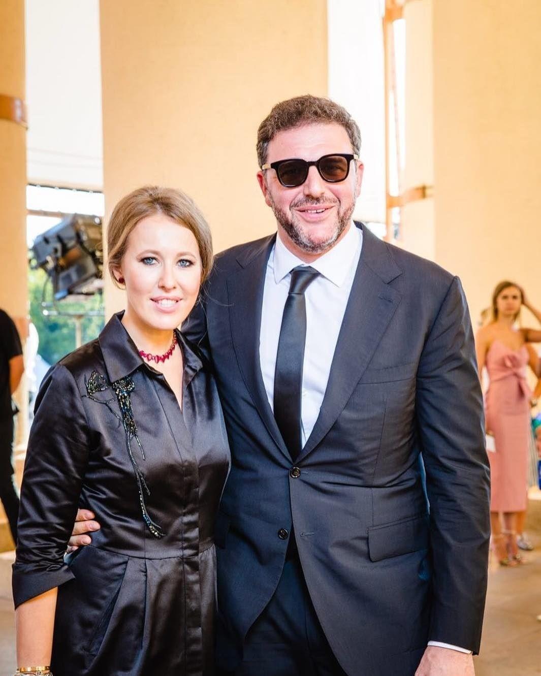 Ксения Собчак и Максим Виторган отдыхают после развода
