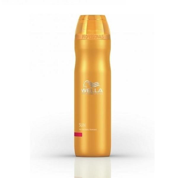 Солнцезащитный шампунь для волос и тела The Sun, Wella Professionals