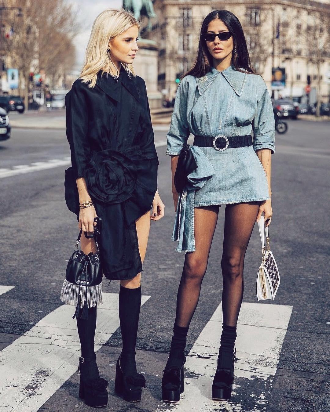 Джинсовый бум: 10 модных платьев из денима