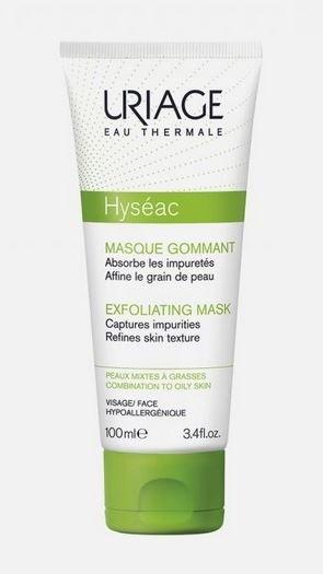Маска-гоммаж для лица Hyseac, Uriage