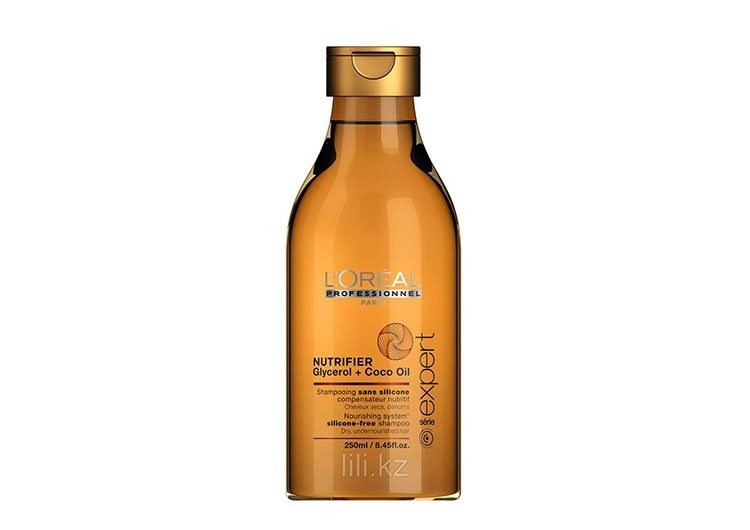 Шампунь для сухих и ломких волос Nutrifier Glycerol+Coco oil, L'Oreal Professionnel