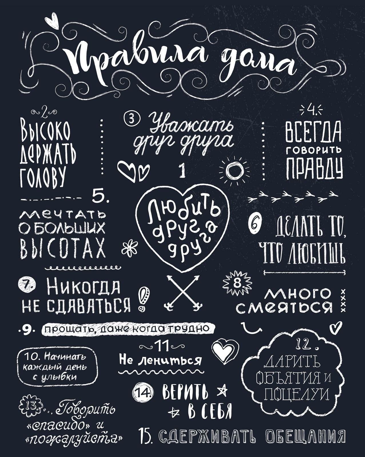 Постер «Правила дома»