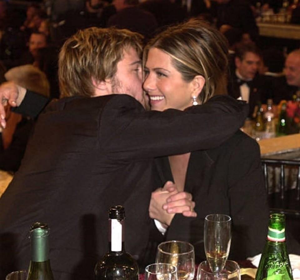 СМИ: Брэда Питта и Дженнифер Энистон застукали на свидании в Риме
