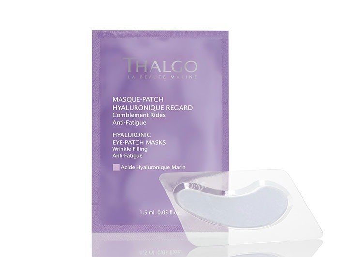 Гиалуроновые патчи для глаз Hyaluronic Eye Patch Masks (8 пар), Thalgo
