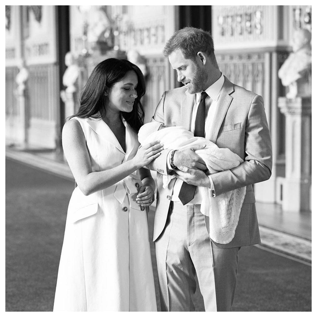 Принц Гарри и Меган Маркл наняли няню для своего сына