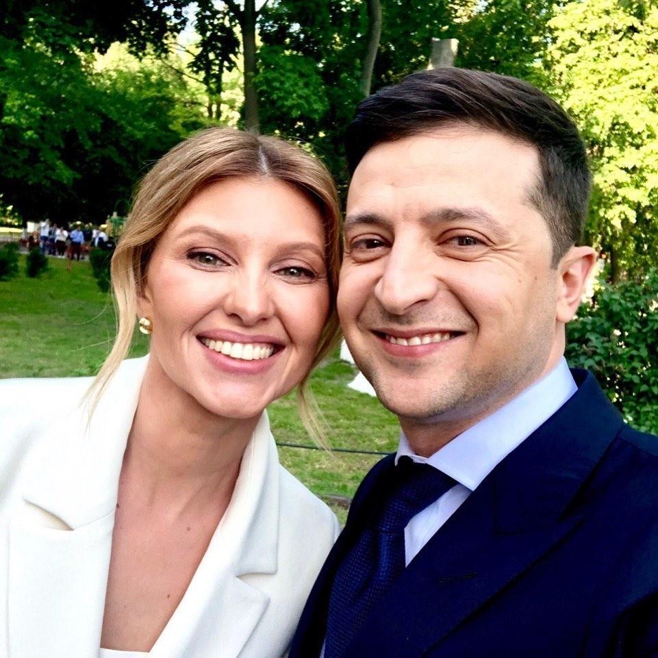 Владимир Зеленский с женой совершили первый визит в Париж