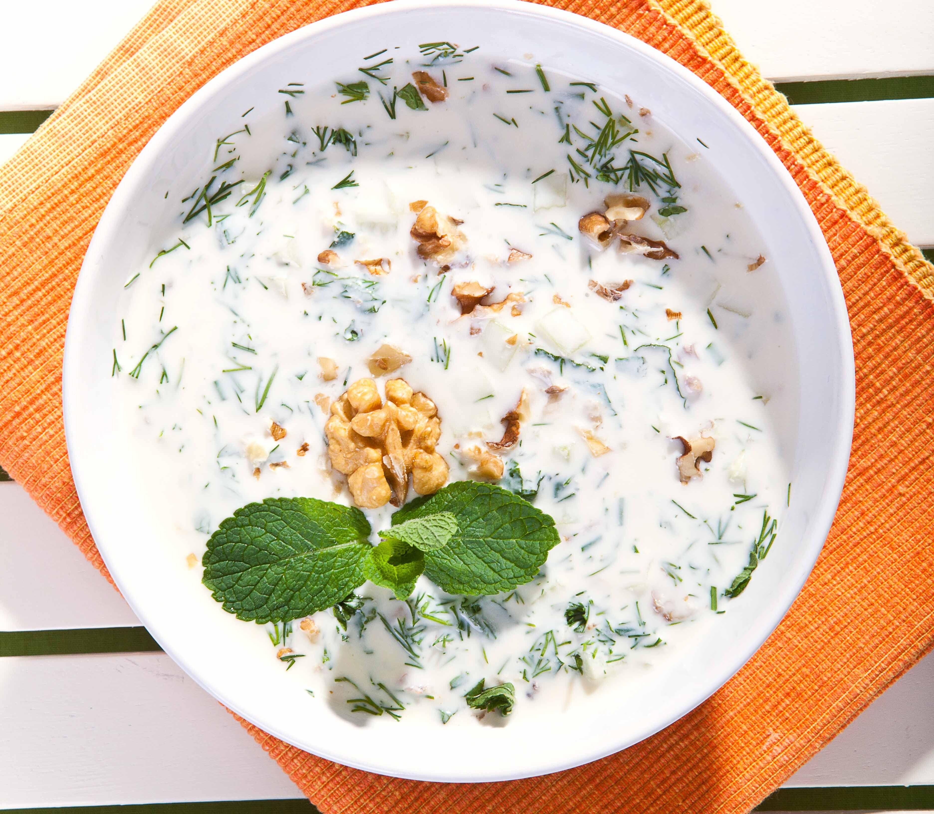 Полегче: рецепт таратора с грецкими орехами