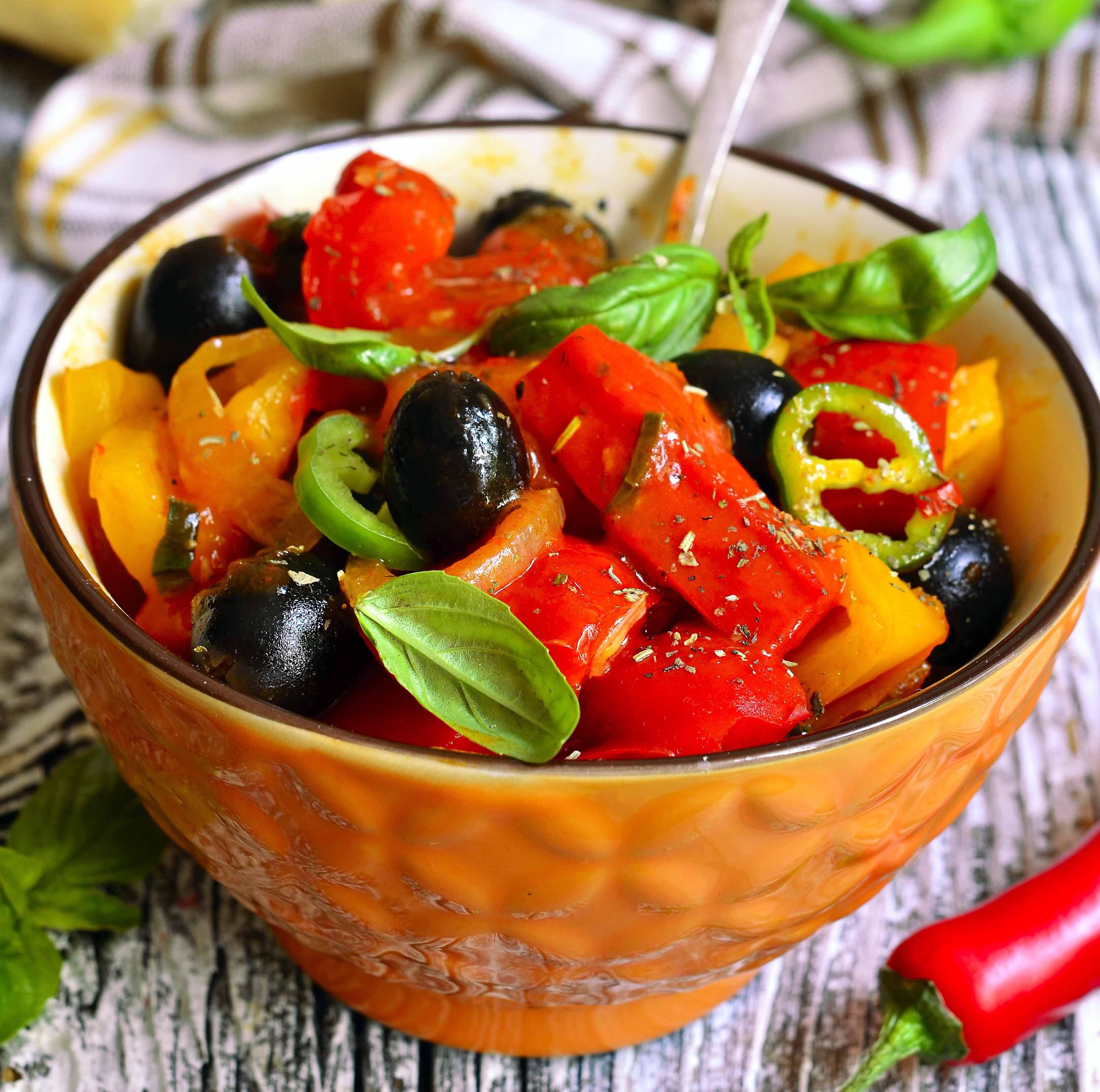 Разгоняем обмен веществ: рецепт салата по-болгарски