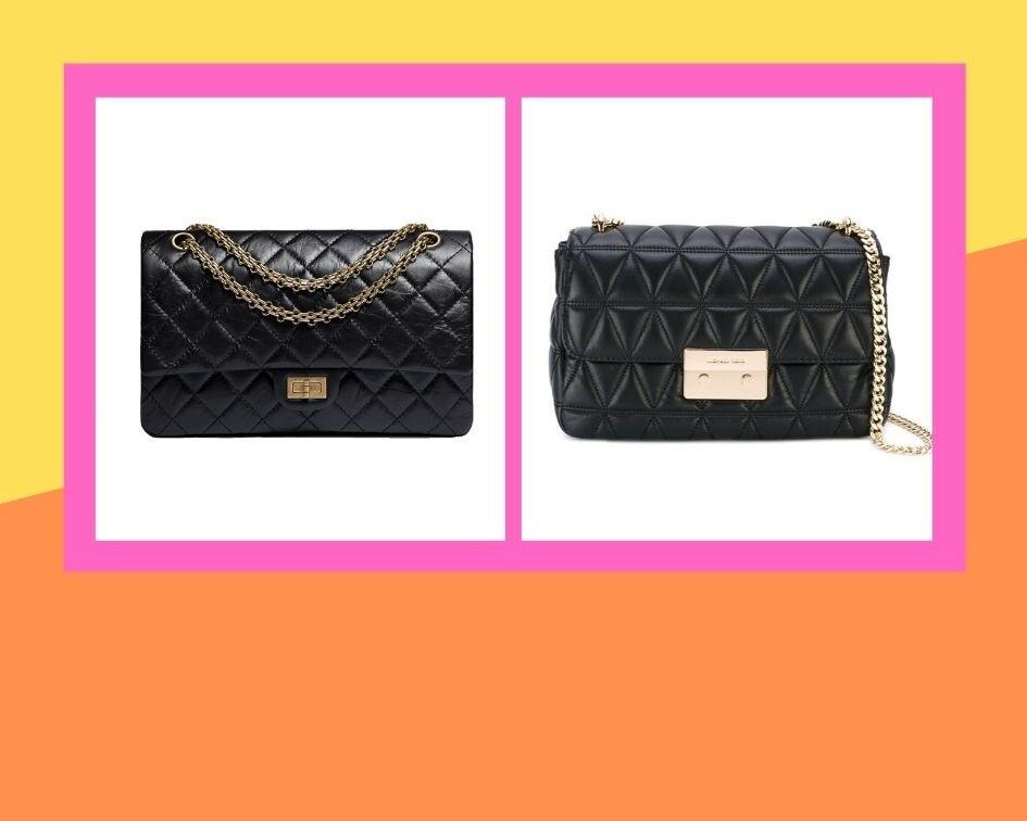 Сумка Chanel, 432 600 руб.; сумка Michael Michael Kors, 24 197 руб.