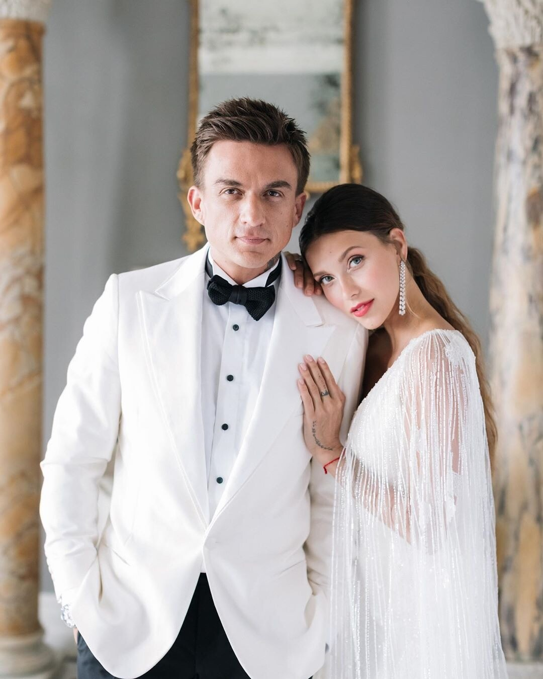 Регина Тодоренко и Влад Топалов поделились шикарными видео со свадьбы