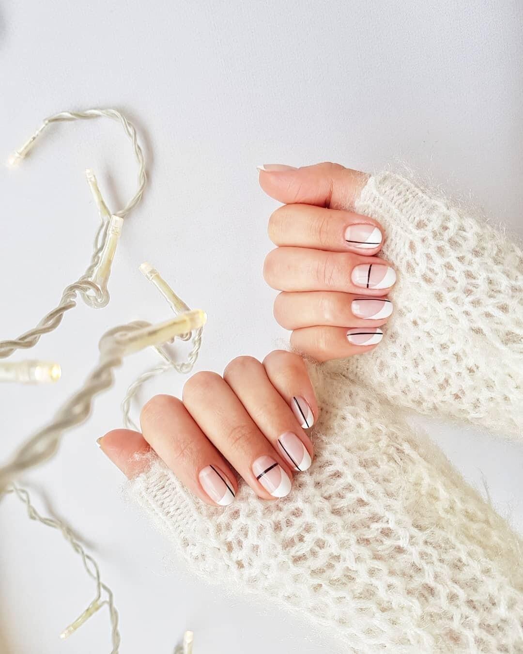 И нюд, и блестки: 70 вариантов маникюра на овальные ногти