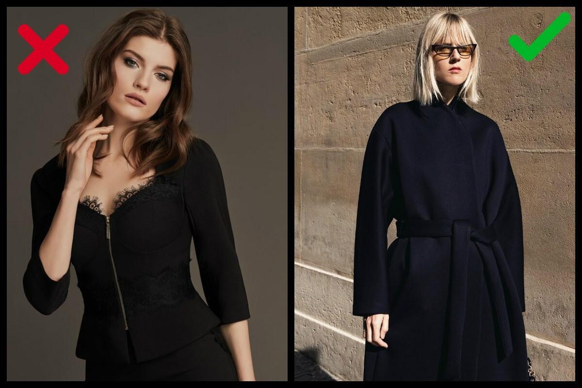 4 главные ошибки с одеждой черного цвета: корректируем твои любимые образы