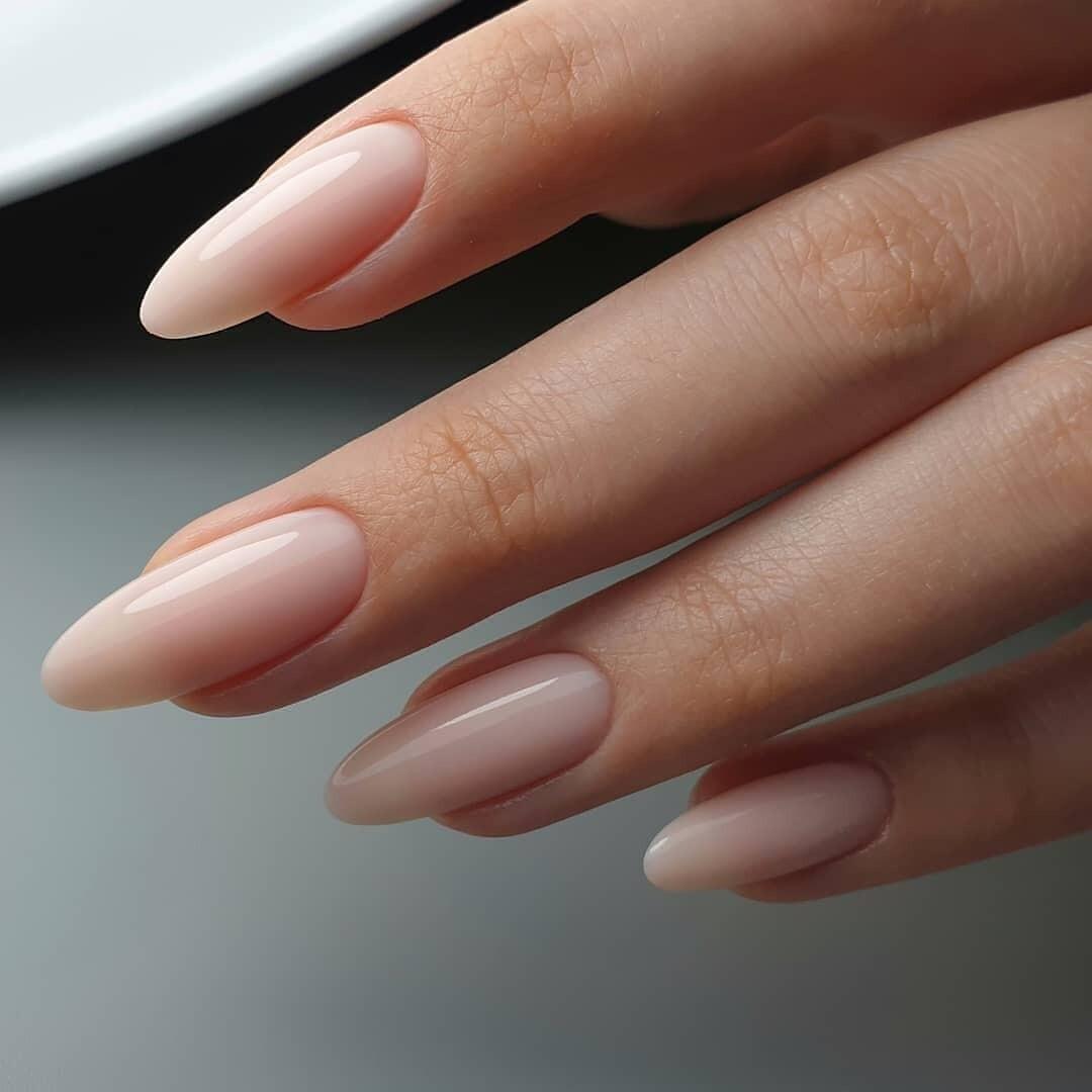 картинки нарощенных ногтей овальной формы фото помогают