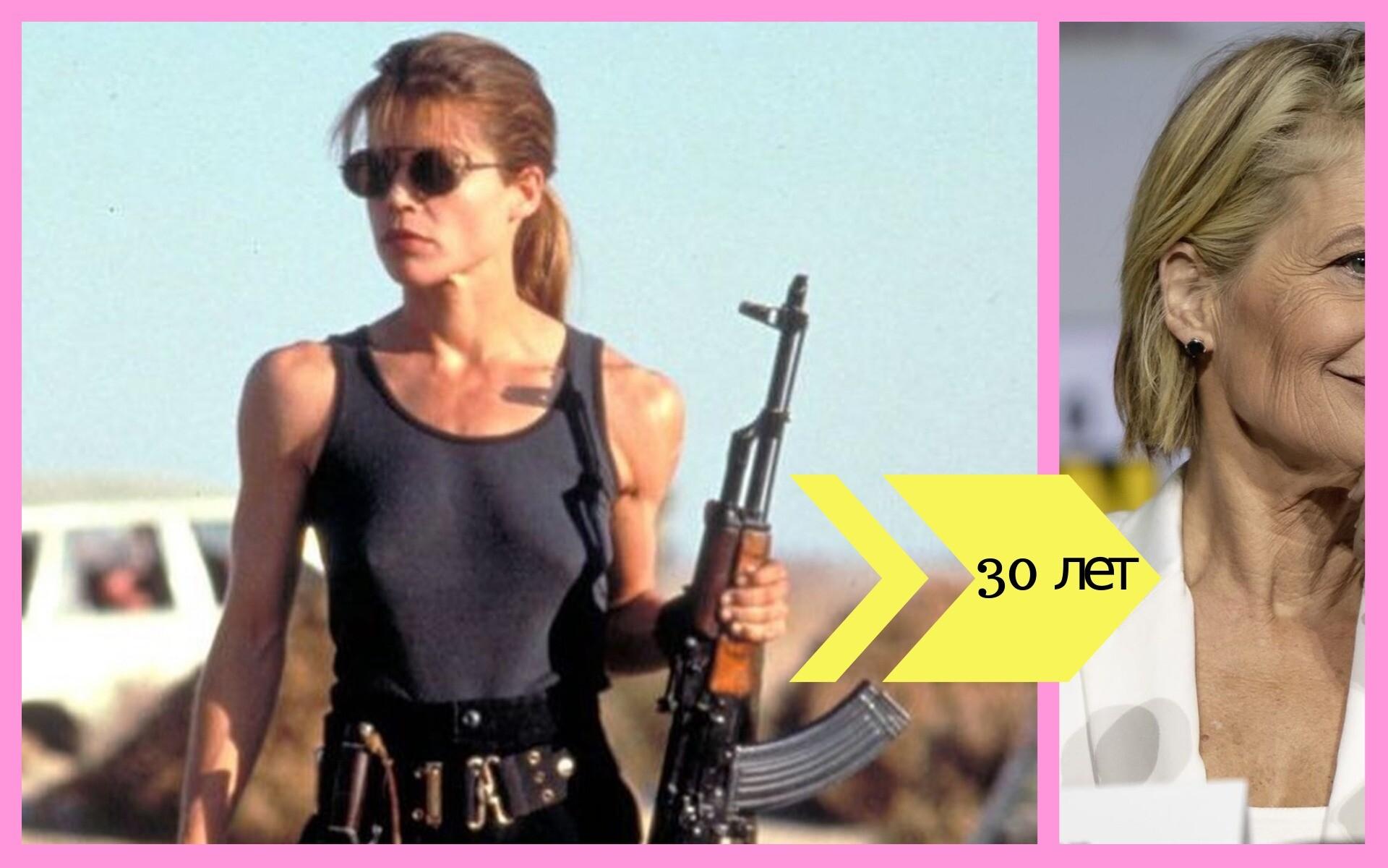 Сара Конор и еще 5 героинь популярных боевиков: как они сейчас выглядят