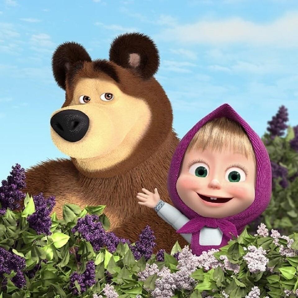 Серию мультфильма «Маша иМедведь» посмотрели более 4миллиардов раз (видео)