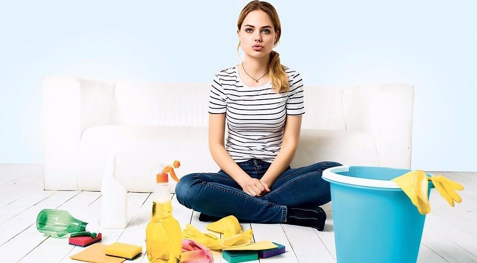 Как быстро убрать квартиру: пошаговая инструкция и 15 лайфхаков для лентяев