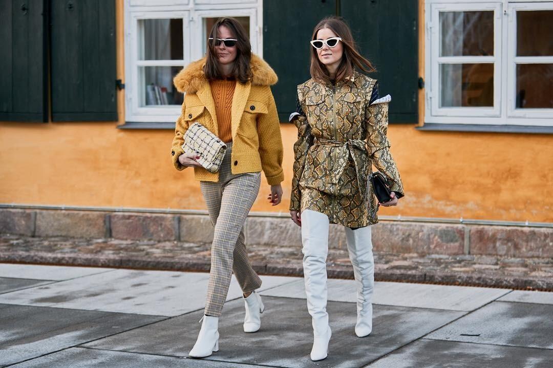 С чем носить сапоги ботфорты: 35 классных образов для осени и зимы