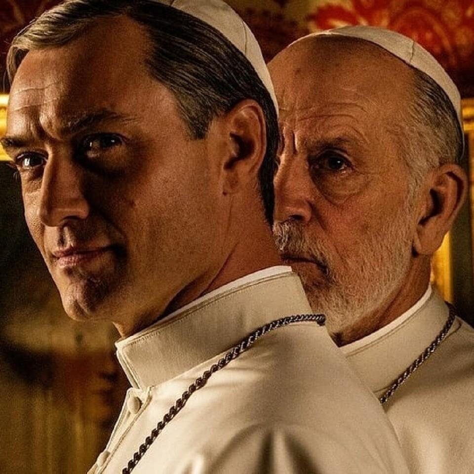 ВСети появился тизер «Нового папы» сДжудом Лоу (очень горячо)