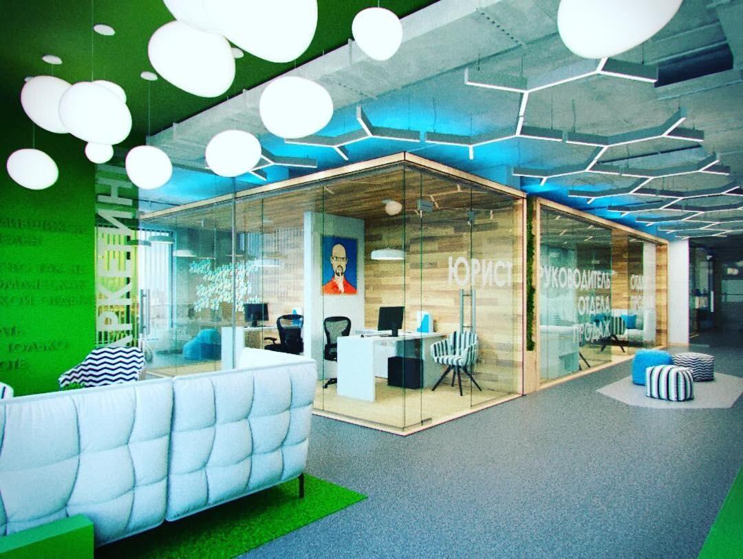 6 самых крутых офисов, в которых хочется работать и жить