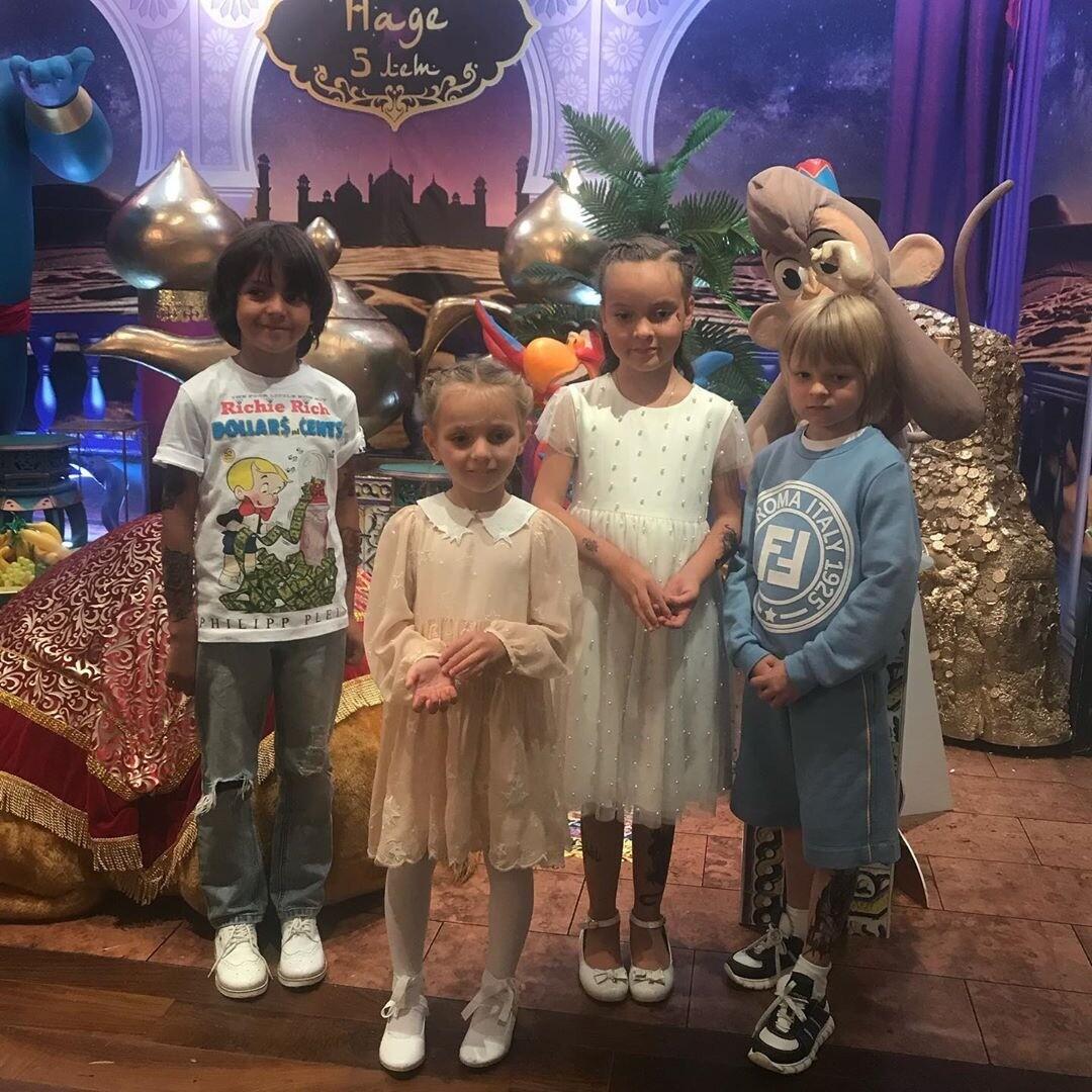 Дети Филиппа Киркорова и сын Рудковской повеселились на дне рождения дочери Татьяны Навки