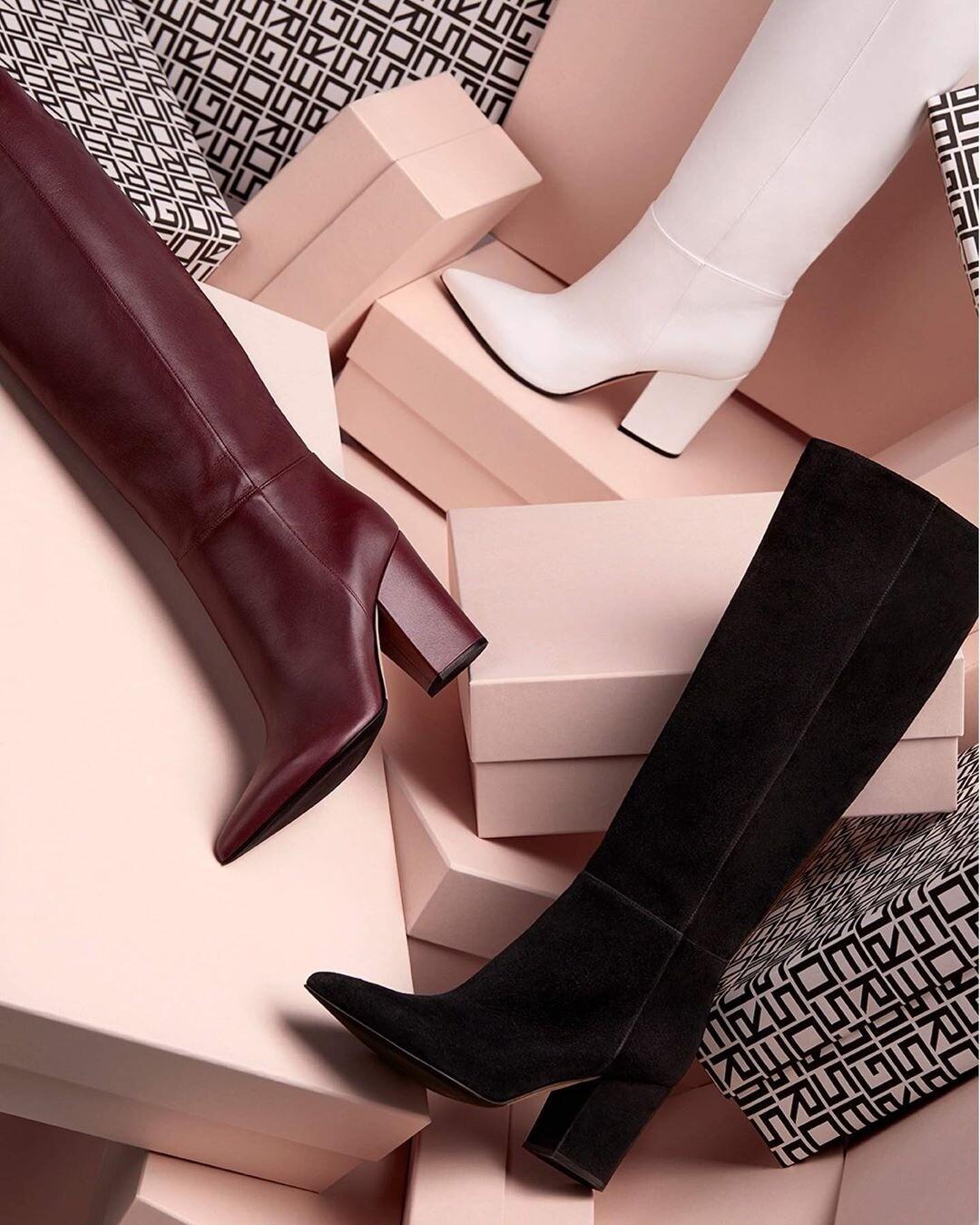 Модная кавалерия: выбираем ботфорты на осень